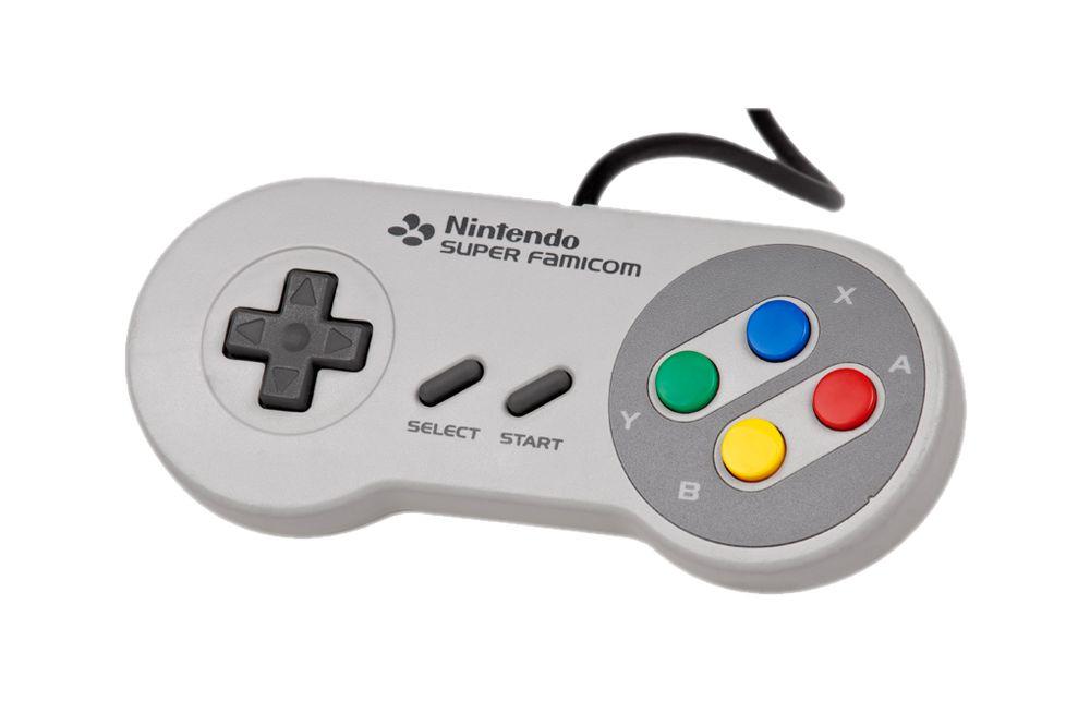 Super Famicom Snes Controller W Extension Cable Super